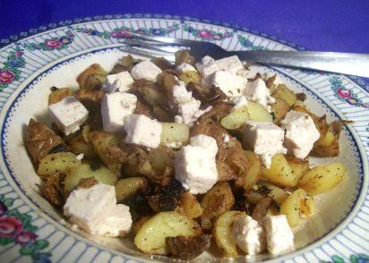 Vegetarian bratkartoffeln german fried potatoes w feta cheese vegetarian bratkartoffeln german fried potatoes w feta cheese recipe genius kitchen forumfinder Gallery