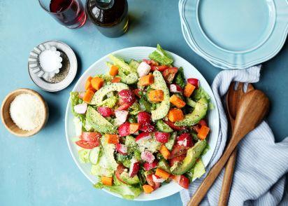 perfect garden salad recipe genius kitchen - Garden Salad Recipe
