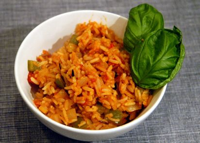 Veronicas easy spanish rice recipe low cholesterolnius kitchen forumfinder Images
