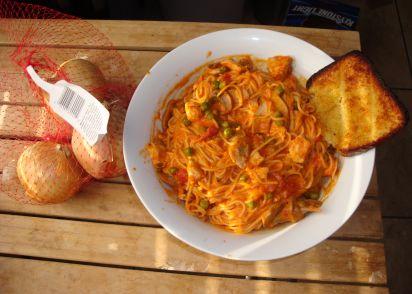 Pasta with chicken and vodka sauce recipe italiannius kitchen forumfinder Gallery