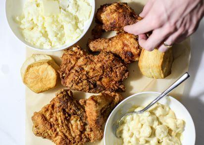 Perfect southern fried chicken recipe genius kitchen forumfinder Gallery