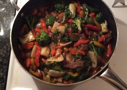 Simple vegetarian stir fry recipe genius kitchen forumfinder Images