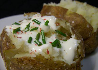 Quick Baked Potatoes Recipe Genius Kitchen
