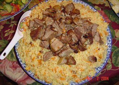 Uyghur polo pilaf recipe genius kitchen forumfinder Image collections