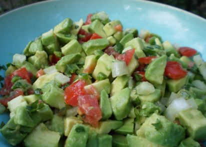 Evas chunky guacamole recipe genius kitchen forumfinder Images