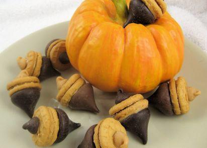 nutter butter acorns recipe genius kitchen