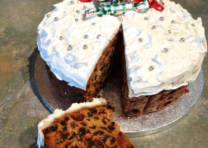 grandmas best christmas cake recipe genius kitchen