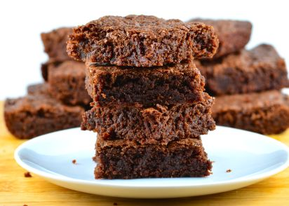 Homemade Fudge Brownies Recipe Genius Kitchen