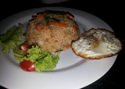 Indonesian fried rice nasi goreng recipe genius kitchen ccuart Choice Image