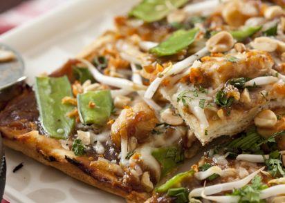 California Pizza Kitchen Thai Chicken Pizza Recipe - Genius Kitchen