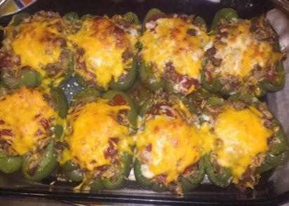 Classic stuffed bell peppers recipe genius kitchen forumfinder Images