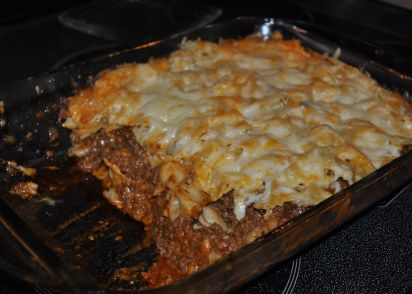 recipe: macaroni and cheese with ground beef casserole [31]