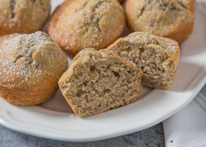 Easy banana muffins recipe genius kitchen forumfinder Image collections