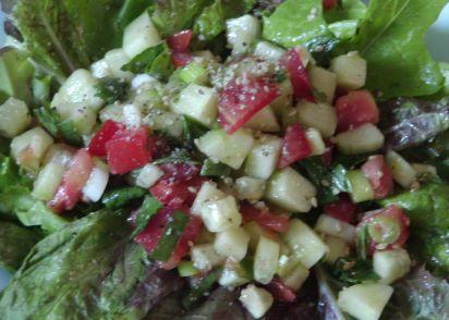 Garden Salad With An Asian Touch Recipe - Genius Kitchen