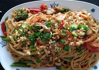 asian peanut noodle recipe