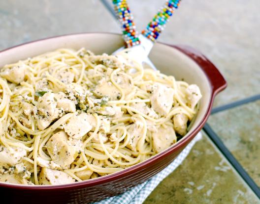 Lemon chicken spaghetti toss recipe genius kitchen forumfinder Choice Image