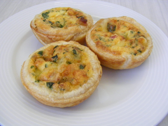 Mini quiche recipe genius kitchen like forumfinder Gallery