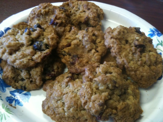 recipe: cranberry walnut oatmeal cookies crisco [8]