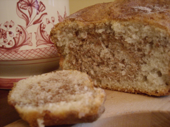 Marbled Cinnamon Sugar Quick Bread Recipe Food Com