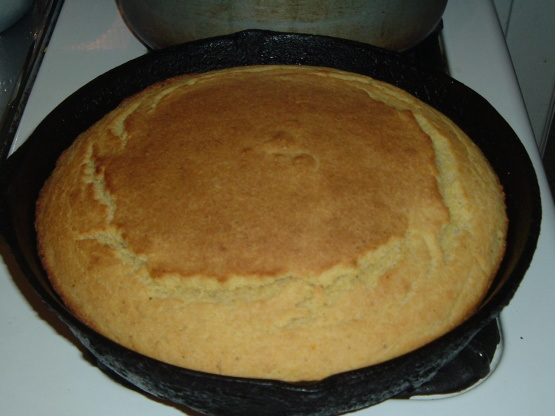 Me And Mas Southern Style Scratch Cornbread Recipe