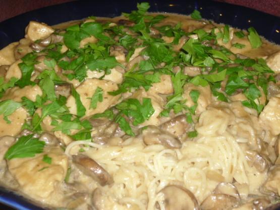 Chicken With Mustard Mascarpone Marsala Sauce Recipe Genius Kitchen