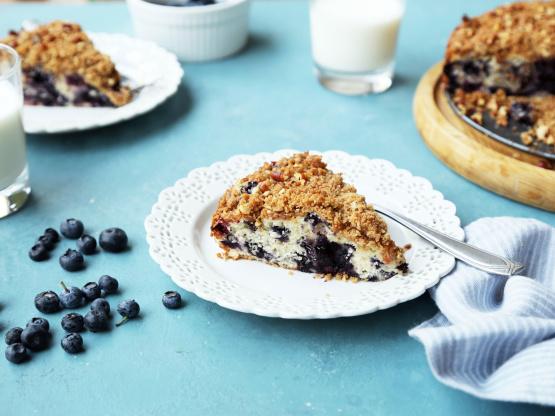 Tons Of Blueberry Coffee Cake Recipe Food Com