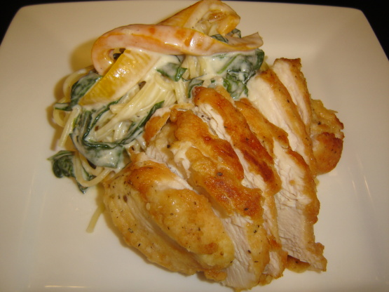 Olive garden tuscan garlic chicken recipe genius kitchen - Olive garden wedding soup recipe ...