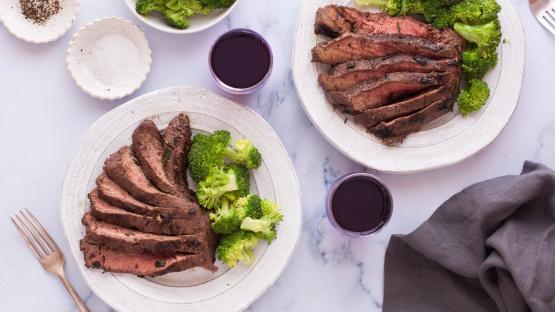 Tender Flat Iron Steak Recipe Food Com