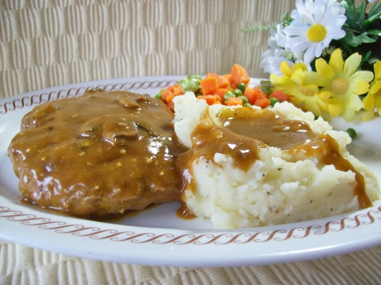 Smothered Hamburger Steak Recipe Genius Kitchen