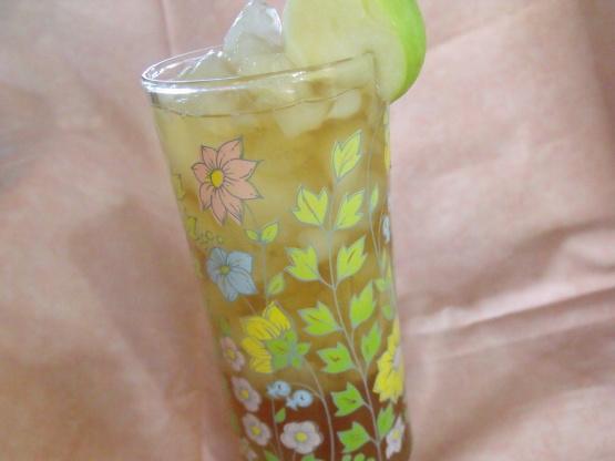 how to make apple iced tea