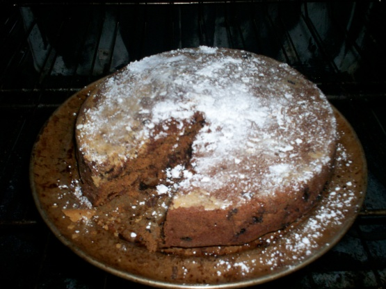 Carob Chip Cake Recipe