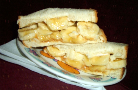 Peanut Butter Banana And Mayonnaise Sandwich Recipe Food Com