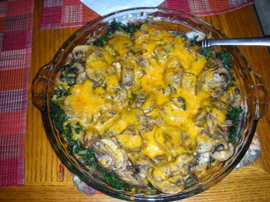 Mushroom Florentine Recipe Genius Kitchen