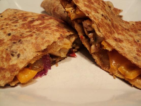 Barbecue Chicken Quesadillas Recipe Genius Kitchen