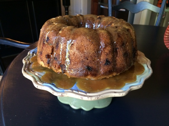 Apple Bundt Cake With Caramel Glaze Recipe Genius Kitchen