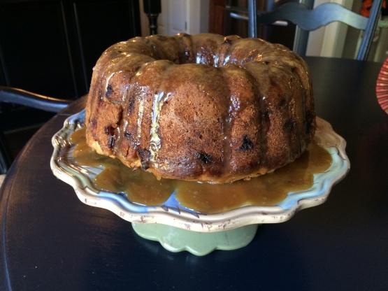 Apple Bundt Cake With Caramel Glaze Recipe Genius Kitchen