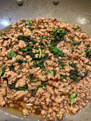 Minced Pork With Thai Basil Bangkok Style [pat Krapao Moo Sap] Recipe