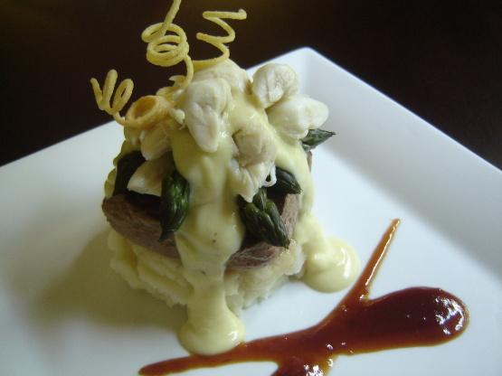 Steak Oscar For 2 Recipe Genius Kitchen