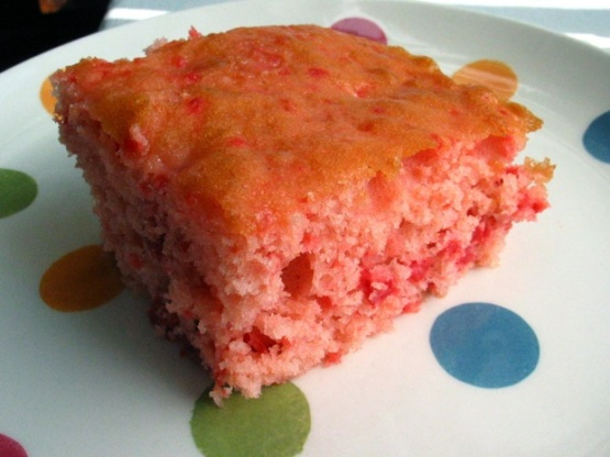 Cherry Pie Bars With Cake Mix