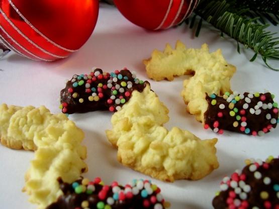 Mandelspritzgebck German Christmas Almond Cookies) Recipe