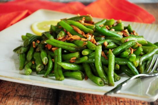 Green Beans Almondine Recipe Genius Kitchen