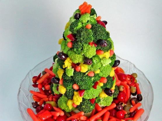 Christmas Tree Food.Christmas Tree Edible Centerpiece