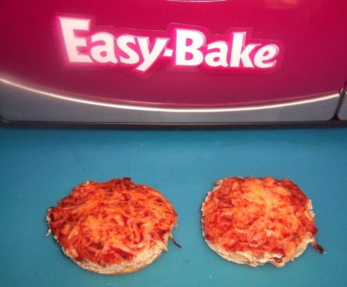 Easy bake oven english muffin pizza recipe genius kitchen like forumfinder Gallery