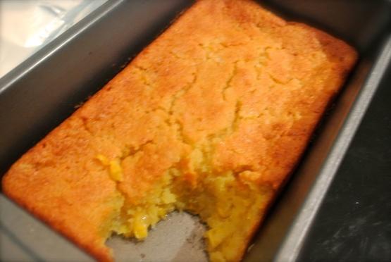 Sweet Corn Cake Mix Recipe