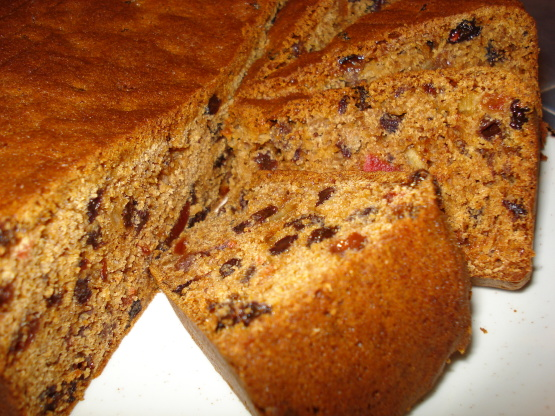 The Best Ever Boiled Fruit Cake