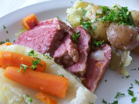 N. Y. C. Corned Beef And Cabbage Recipe - Genius Kitchen