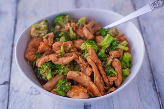 Chicken And Broccoli Skillet Stir Fry Recipe Genius Kitchen