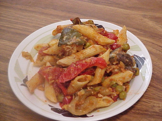 Baked Penne With Roasted Vegetablescourtesy Giada De La Recipe
