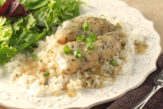 Pammys Crock Pot Chicken Breast And Gravy Recipe Genius Kitchen