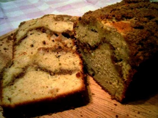 Cinnamon Coffee Cake Loaf Recipe Baking Genius Kitchen